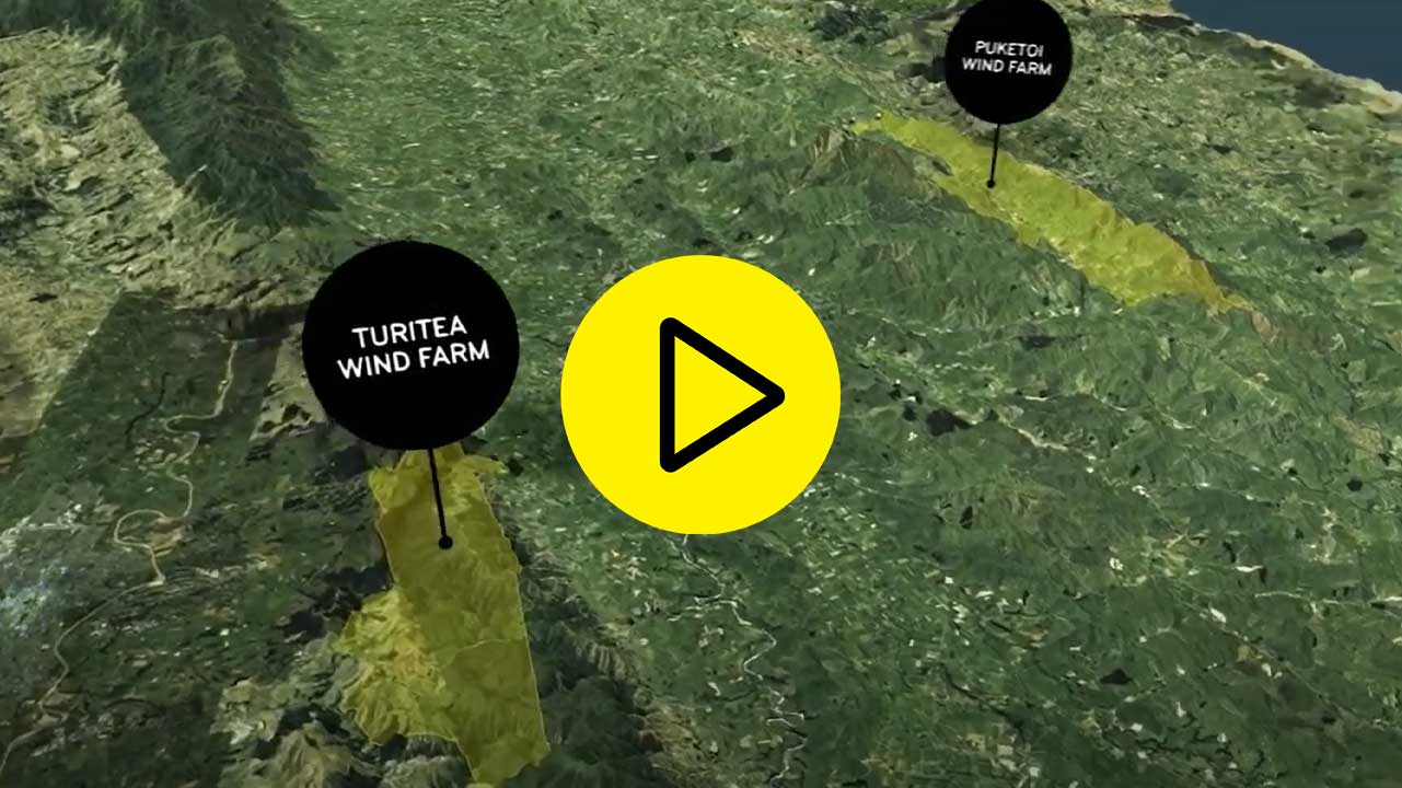 Energy from wind in the Manawatū