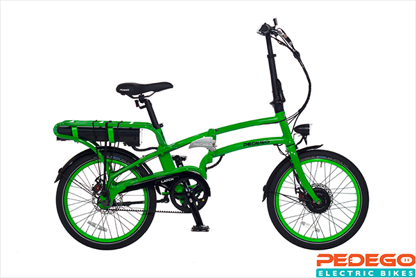 Pedego Latch Folding Bike