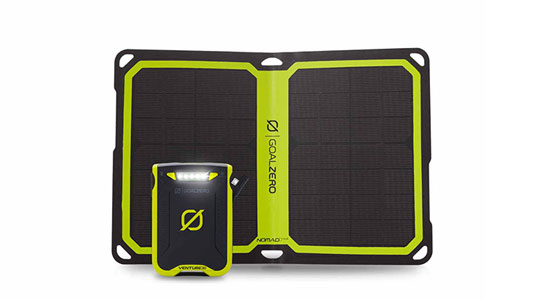 or, Get a solar charging kit