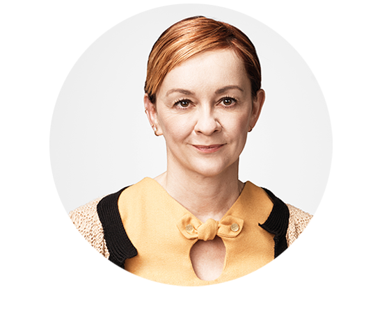 "Julia Jack // <span class=""font-normal"">Chief Marketing Officer</span>"