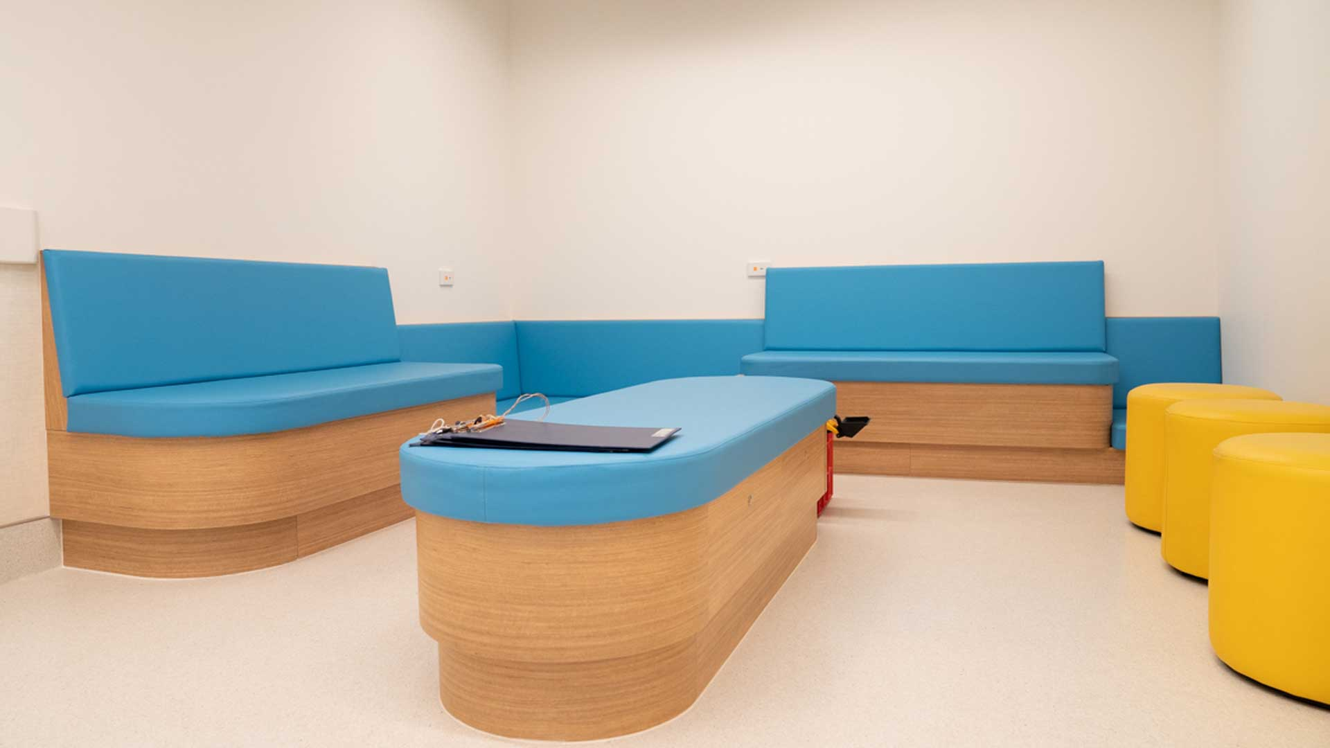 Outpatients waiting area after